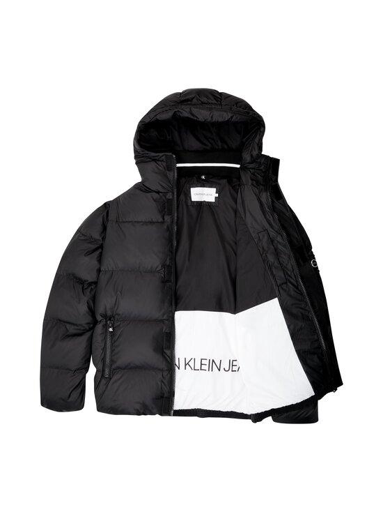 Calvin Klein Jeans - Hooded Down Puffer Jacket -untuvatakki - BAE CK BLACK | Stockmann - photo 3