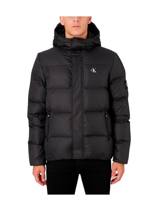 Calvin Klein Jeans - Hooded Down Puffer Jacket -untuvatakki - BAE CK BLACK | Stockmann - photo 4