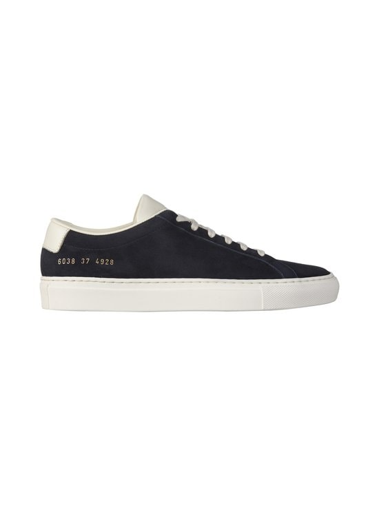 COMMON PROJECTS - Achilles Suede Contrast -nahkatennarit - 4928 NAVY | Stockmann - photo 1