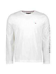 Tommy Hilfiger - Tommy Logo Long Sleeve Tee -paita - YBR WHITE | Stockmann