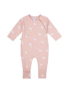 Sanetta - Baby Girl Overall Llama-licious -yöhaalari - 38145 ROSE SKIN | Stockmann