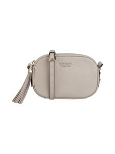 kate spade new york - Annabel Medium Camera Bag -nahkalaukku - WARM TAUPE | Stockmann