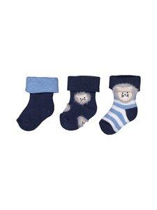 Ewers - Baby-sukat 3-Pack - 001 BLUE   Stockmann