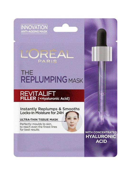 L'Oréal Paris - Revitalift Filler Replumping Tissue Mask -kangasnaamio - NOCOL   Stockmann - photo 1