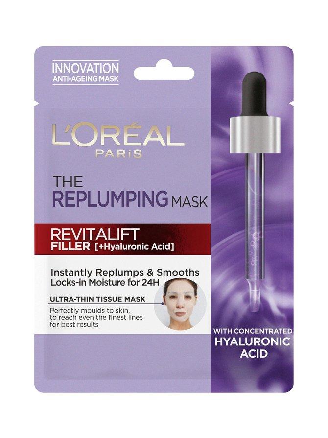 Revitalift Filler Replumping Tissue Mask -kangasnaamio