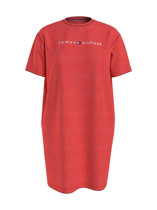 Tommy Hilfiger - Rn Dress Half Sleeve -yöpaita - XJD DARING SCARLET | Stockmann - photo 1
