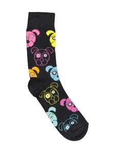 Happy Socks - Dog-sukat - BLACK (MUSTA)   Stockmann