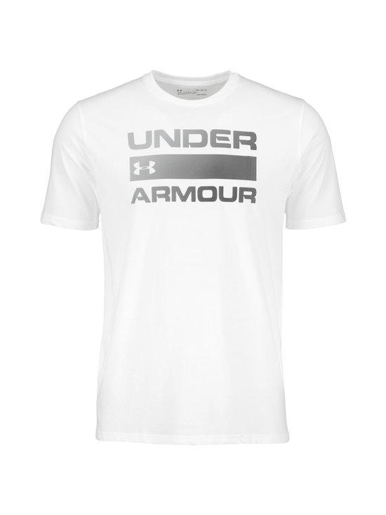 Under Armour - Team Issue Wordmark -paita - WHITE/BLACK | Stockmann - photo 1