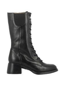 Wonders - G 6106 mid-calf -saappaat nauhoilla - VACHETA NERO | Stockmann