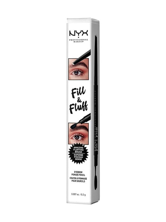 NYX Professional Makeup - Fill & Fluff Eyebrow Pomade Pencil Clear -kulmakynä - NOCOL | Stockmann - photo 3