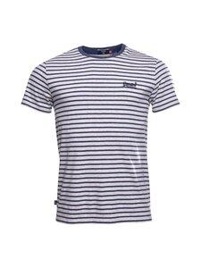 Superdry - Stripe Tee -paita - JKC NAVY STRIPE | Stockmann