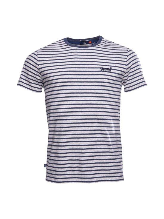 Superdry - Stripe Tee -paita - JKC NAVY STRIPE | Stockmann - photo 1