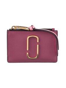 Marc Jacobs - The Snapshot Top Zip Multi Wallet -nahkalompakko - 517 DUSTY RUBY MULTI | Stockmann
