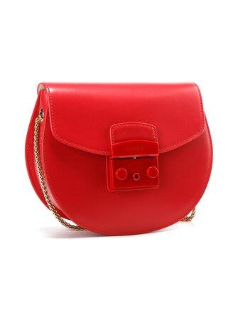 Metropolis Mini Crossbody Round leather bag - Furla