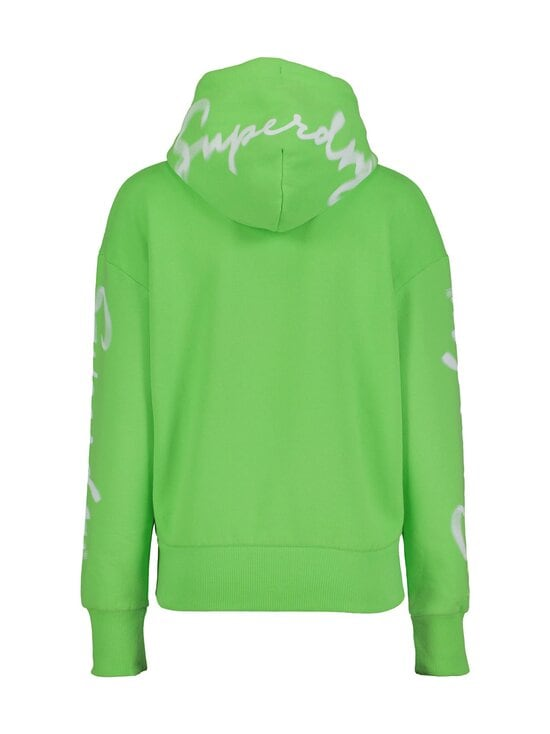 Superdry - Super 5 Deconstruct Hoodie -huppari - GIP NEON LIME | Stockmann - photo 2