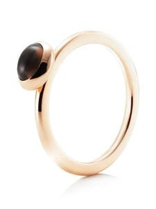 Efva Attling - Love Bead -sormus - GOLD & SMOKEY QUARTZ | Stockmann