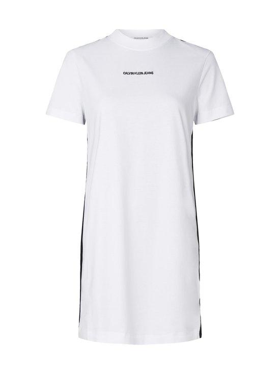 Calvin Klein Jeans - Side Tape T-Shirt Dress -paitamekko - YAF BRIGHT WHITE | Stockmann - photo 1