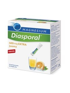 Harmonia - Diasporal Magnesium 400 EXTRA -juomajauhe, 20 annospussia - null | Stockmann