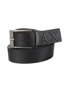 ARMANI EXCHANGE - Nahkavyö - 02621 BLACK/MILITARY | Stockmann