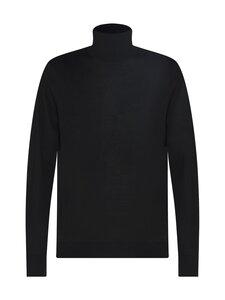 Tommy Hilfiger Tailored - Fine Gauge Luxury Wool Roll Neck -villaneule - BDT GALAXY BLACK   Stockmann