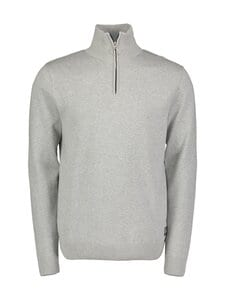 Jack & Jones - JorEli Knit High Neck -puuvillaneule - LIGHT GREY MELANGE | Stockmann