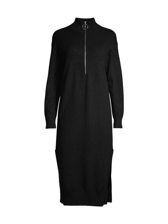 NA-KD - Side Slit Knit Dress -neulemekko - BLACK | Stockmann - photo 1