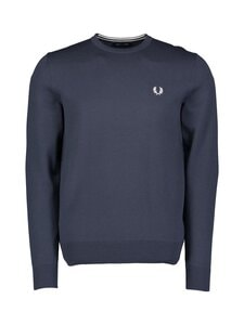 Fred Perry - Classic Crew Neck Jumper -neule - NAVY | Stockmann