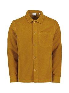 Knowledge Cotton Apparel - 8 Wales Corduroy Overshirt -vakosamettipaita - 1311 BUCKHORN BROWN   Stockmann