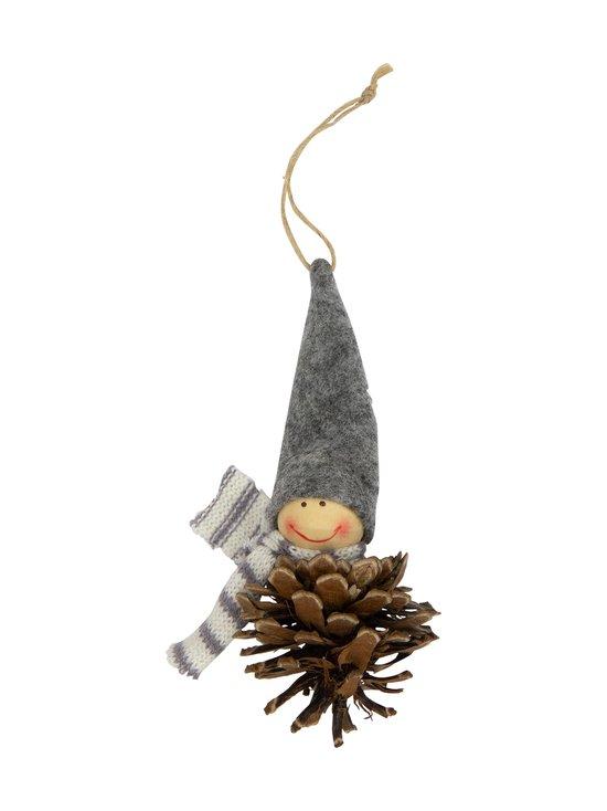 Pentik - Käpytonttu-joulukoriste 14 cm - GREY   Stockmann - photo 1