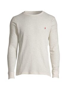 Polo Ralph Lauren - L/S Crew Sleep Top -paita - 2X0Q NATURAL | Stockmann