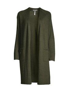 cut & pret - AIRY long cardigan -villaneuletakki - DK KHAKI MEL 105222 | Stockmann