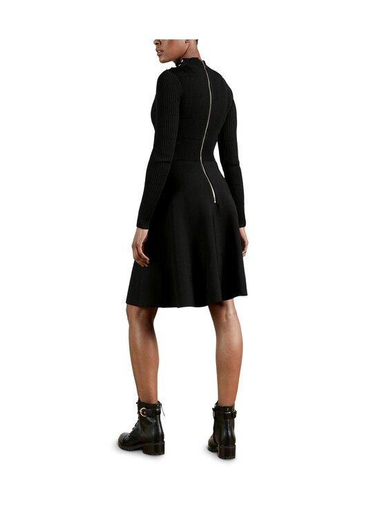 Ted Baker London - Josey Button Detail Skater Dress -mekko - 00 BLACK   Stockmann - photo 3