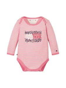 Tommy Hilfiger - Baby Stripe -body - 0D1 ROSEY PINK/ WHITE | Stockmann