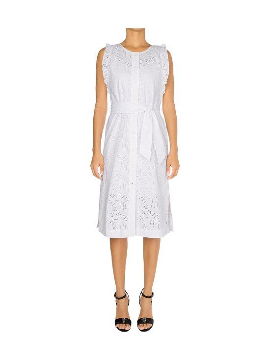 Tommy Hilfiger - Broderie Anglaise Sleeveless Dress -mekko - YCF TH OPTIC WHITE | Stockmann - photo 3