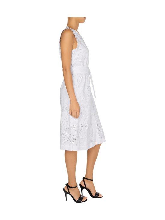 Tommy Hilfiger - Broderie Anglaise Sleeveless Dress -mekko - YCF TH OPTIC WHITE | Stockmann - photo 4