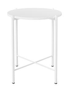 Hakola - Round-pöytä 43 x 52 cm - VALKOINEN   Stockmann