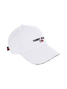 Tommy Jeans - TJW Sport Cap -lippalakki - YBR WHITE | Stockmann