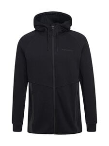 Peak Performance - M Tech Zip Hood -huppari - 050 BLACK | Stockmann