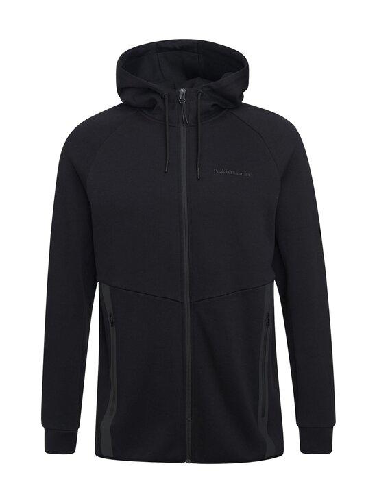 Peak Performance - M Tech Zip Hood -huppari - 050 BLACK | Stockmann - photo 1