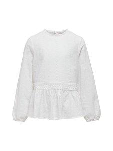 KIDS ONLY - KonFina L/S Top -paita - BRIGHT WHITE | Stockmann