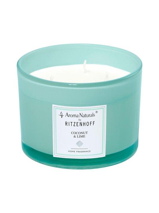 Ritzenhoff - Aroma Naturals Coconut & Lime -tuoksukynttilä Ø 11 cm - TURKOOSI | Stockmann - photo 1