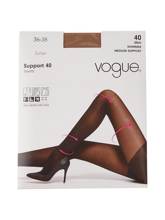Vogue - Support 40 den -sukkahousut - SUNTAN | Stockmann - photo 1