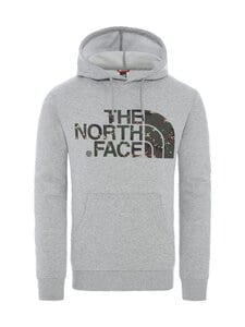 The North Face - M Standard Hoodie -huppari - DYX1 TNF LIGHT GREY HEATHER | Stockmann