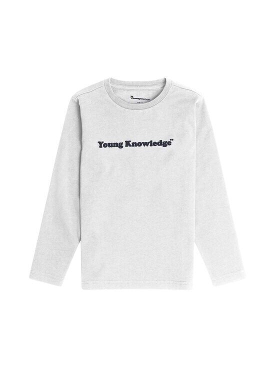 Knowledge Cotton Apparel - Flax Young Knowledge Long Sleeve -paita - 1010 BRIGHT WHITE   Stockmann - photo 1