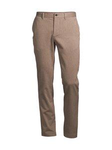 J.Lindeberg - Chaze Flannel Twill Pants -housut - E246 WOOD BROWN   Stockmann