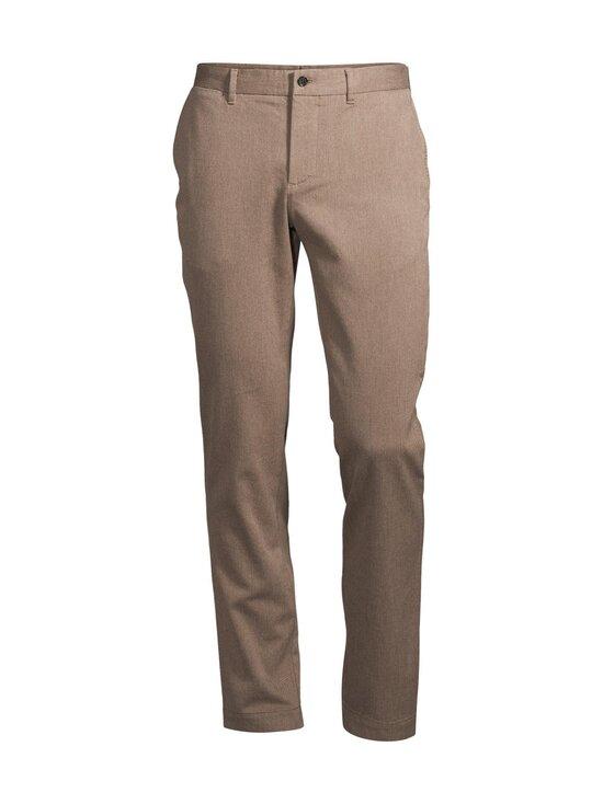 J.Lindeberg - Chaze Flannel Twill Pants -housut - E246 WOOD BROWN | Stockmann - photo 1