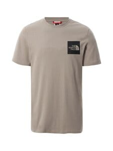 The North Face - M S/S Fine Tee -paita - VQ81 MINERAL GREY | Stockmann