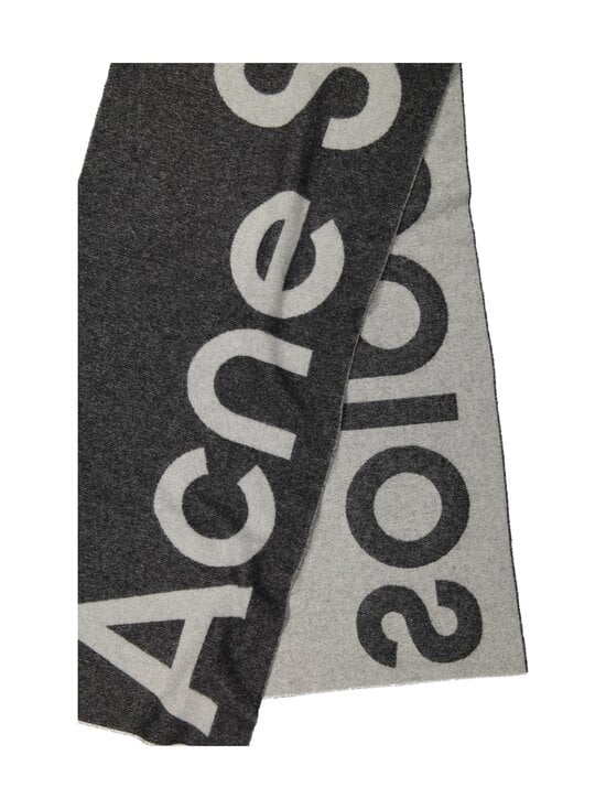 Acne Studios - Toronty Logo -villasekoitehuivi - GREY 902 | Stockmann - photo 2