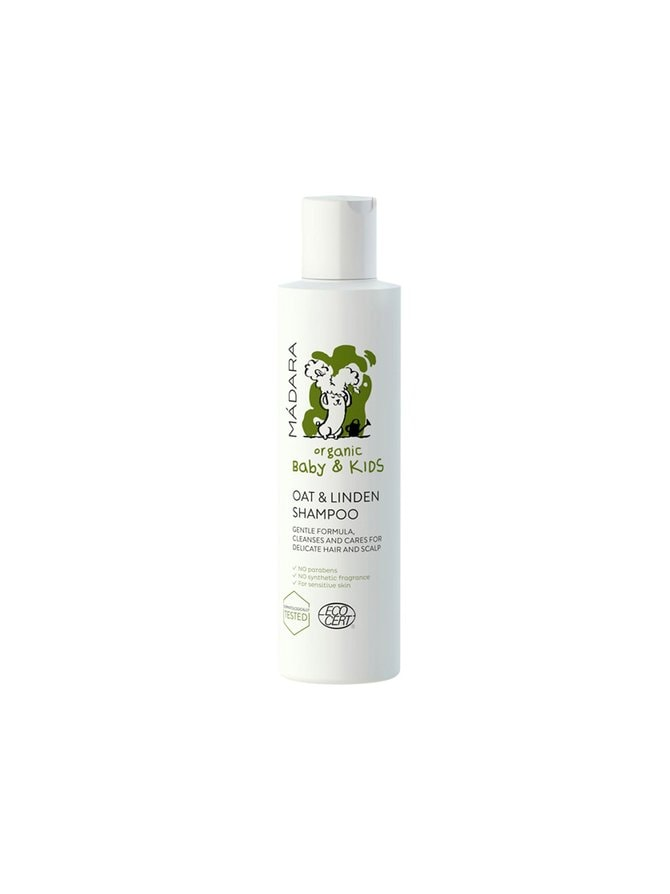 Oat and Linden flower -shampoo 200 ml
