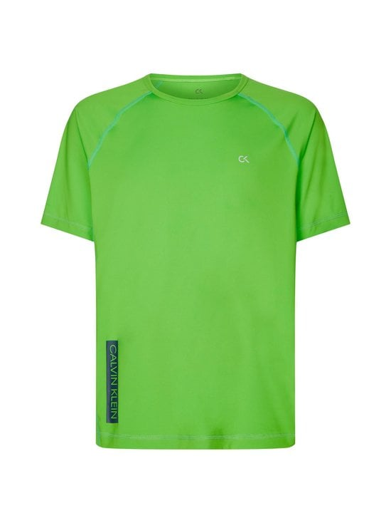 Calvin Klein Performance - Short Sleeve T-Shirt -paita - 310 GREEN FLASH/GREEN FLASH/MAJOLICA BL | Stockmann - photo 1